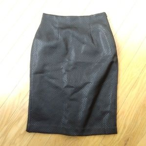 Black pencil skirt by Worthington